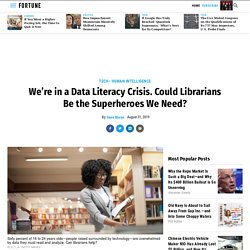 In a Data Literacy Crisis, Librarians Could Be the Experts We Need
