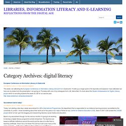digital literacy « Libraries, Information Literacy and E-learning