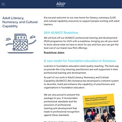 Adult Literacy, Numeracy and Cultural Capability » Ako Aotearoa
