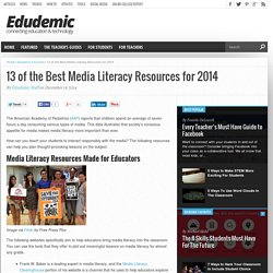 13 of the Best Media Literacy Resources for 2014