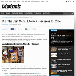 14 of the Best Media Literacy Resources for 2014