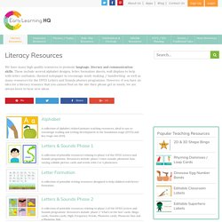 Literacy Teaching Resources, KS1, Foundation Stage, EYFS