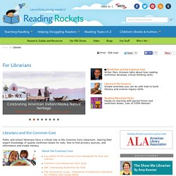 Literacy Resources For Librarians