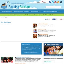 Literacy Resources For Teachers