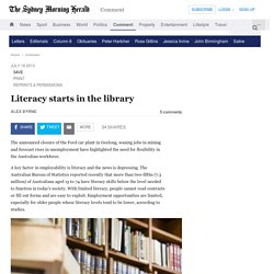 Literacy Starts in the Library