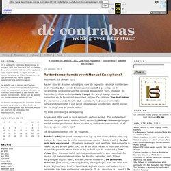 Literair Weblog De Contrabas