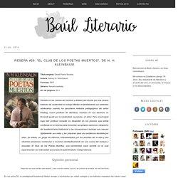 """Reseña #26: """"El club de los poetas muertos"""", de N. H. Kleinbaum."""