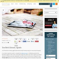 Get Best US literary Agents List