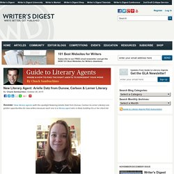 New Literary Agent: Arielle Datz from Dunow, Carlson & Lerner Literary