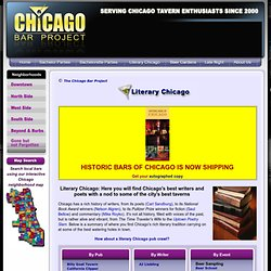 Literary Chicago Presented by the Chicago Bar Project