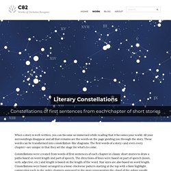 Literary Constellations - C82: Works of Nicholas Rougeux
