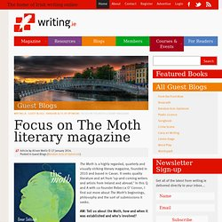 Focus on The Moth literary magazine