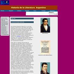 Literatura Argentina , Las primeras décadas (1800-1830)
