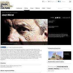 Juan Marsé. Literatura. Biografía y obras en España es cultura.