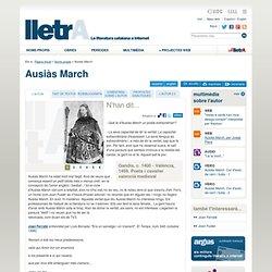 Ausiàs March - Autors a lletrA