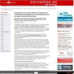 El Instituto Cervantes celebra los clásicos de la literatura en español con 10 conferencias en su sede de Alcalá de Henares