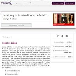 Literatura y cultura tradicional de México