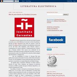Más de 3000 ebooks en el Instituto Cervantes