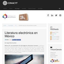 Literatura electrónica en México