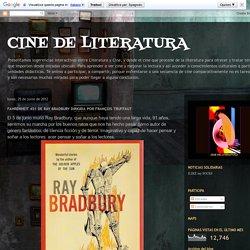 CINE DE LITERATURA: FAHRENHEIT 451 DE RAY BRADBURY DIRIGIDA POR FRANÇOIS TRUFFAUT