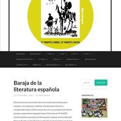 Baraja de la literatura española