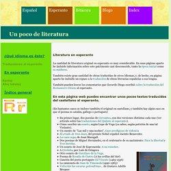 Literatura hispana en esperanto