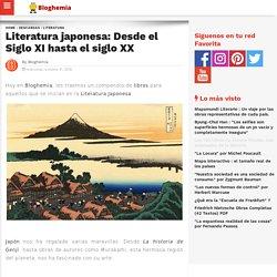 Literatura japonesa: Desde el Siglo XI hasta el siglo XX