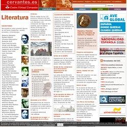Literaturas españolas e hispanoamericanas.