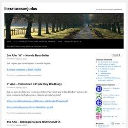blog de la materia lengua y literatura