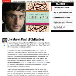 Reza Aslan's New Book, Table and Pen: Literature Bridges Civilizations
