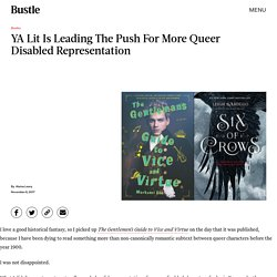 How YA Literature Is Leading the Queer Disabled Media Revolution