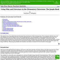 95.02.05: Using Film and Literature in the Elementary Classroom: The Jungle Book