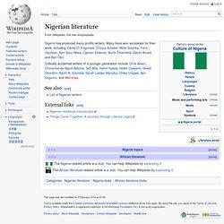 Nigerian literature