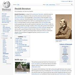 Danish literature