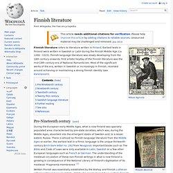Finnish literature