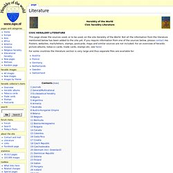 Literature - Heraldrywiki