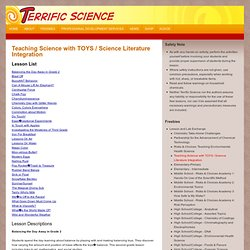 Teaching Science with TOYS / Science Literature Integration