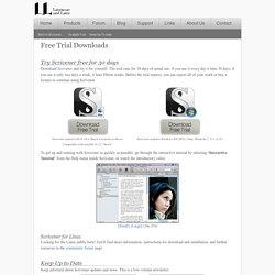Scrivener Trial