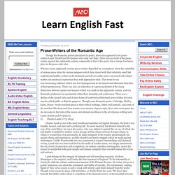Learn English, IELTS, EFL,ESL Public Speaking, Grammar, Literature, Linguistics by NEO