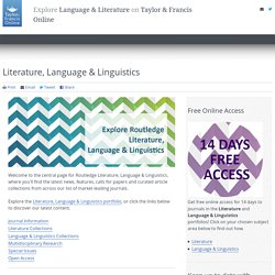 Literature, Language & Linguistics