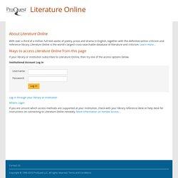 Literature Online