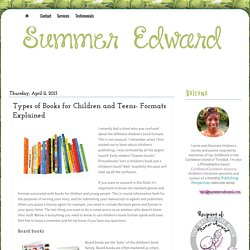 Summer Edward- Children's writer and Caribbean children's literature specialist