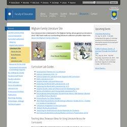 Wigham Family Literature Site - U of Lethbridge