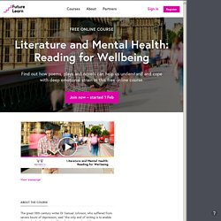 Literature and Mental Health - The University of Warwick