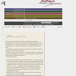 Homepage von Dr. Matthias Kammerer: Literaturquiz