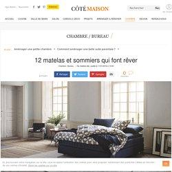 Literie : 12 matelas et sommiers confortables et design - 11/01/16