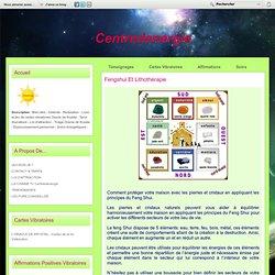 Fengshui et lithothérapie - Centredenergie