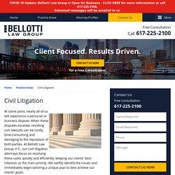 Boston Personal Injury Lawyers Bellotti Law Group