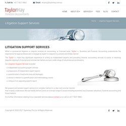 Litigation Support Services in Australia