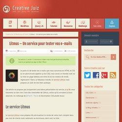 Litmus – Testez vos e-mails HTML/CSS